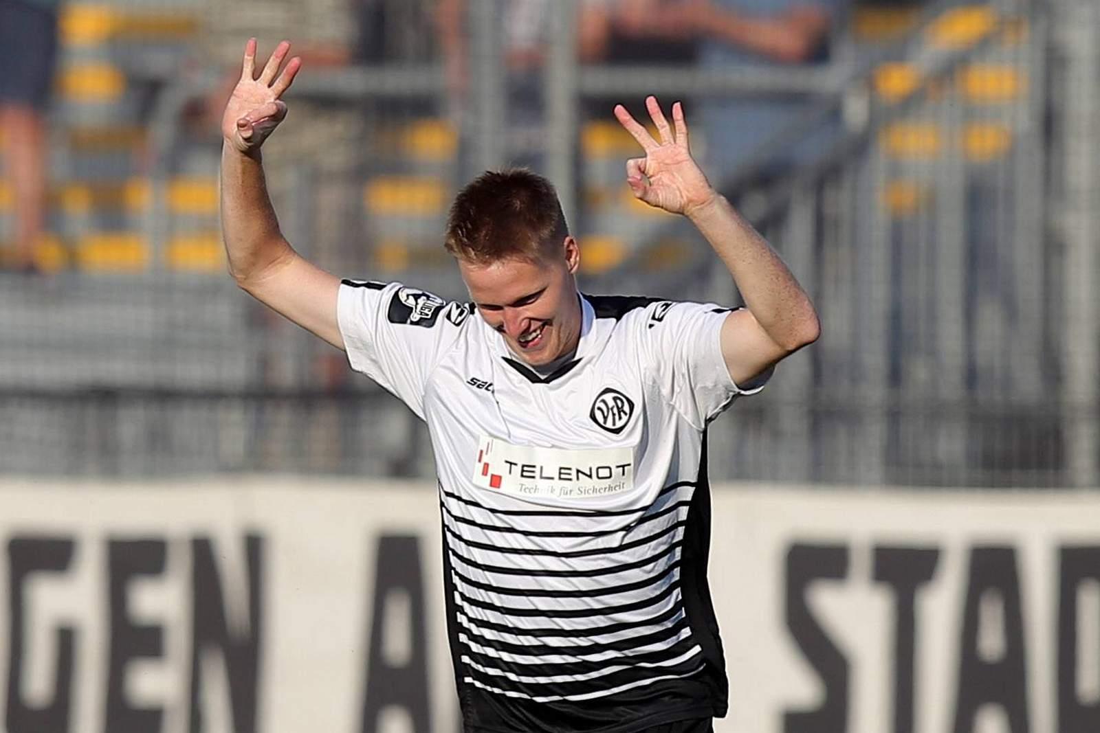 Gerrit Wegkamp hat bereits zehn Saisontore auf dem Konto.