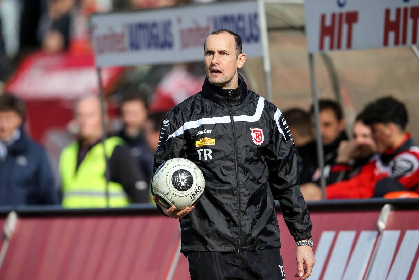 Heiko Herrlich, Trainer von Jahn Regensburg.