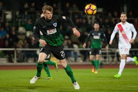 Lion Schweers (SC Preußen Münster, Preussen Muenster, 25) am Ball, Fussball, 3. Liga, SV Werder Bremen II - SC Preußen Münster, xobx  Lion Schweers SC Prussia Muenster Prussia Muenster 25 at Ball Football 3 League SV Werder Bremen II SC Prussia Muenster xobx