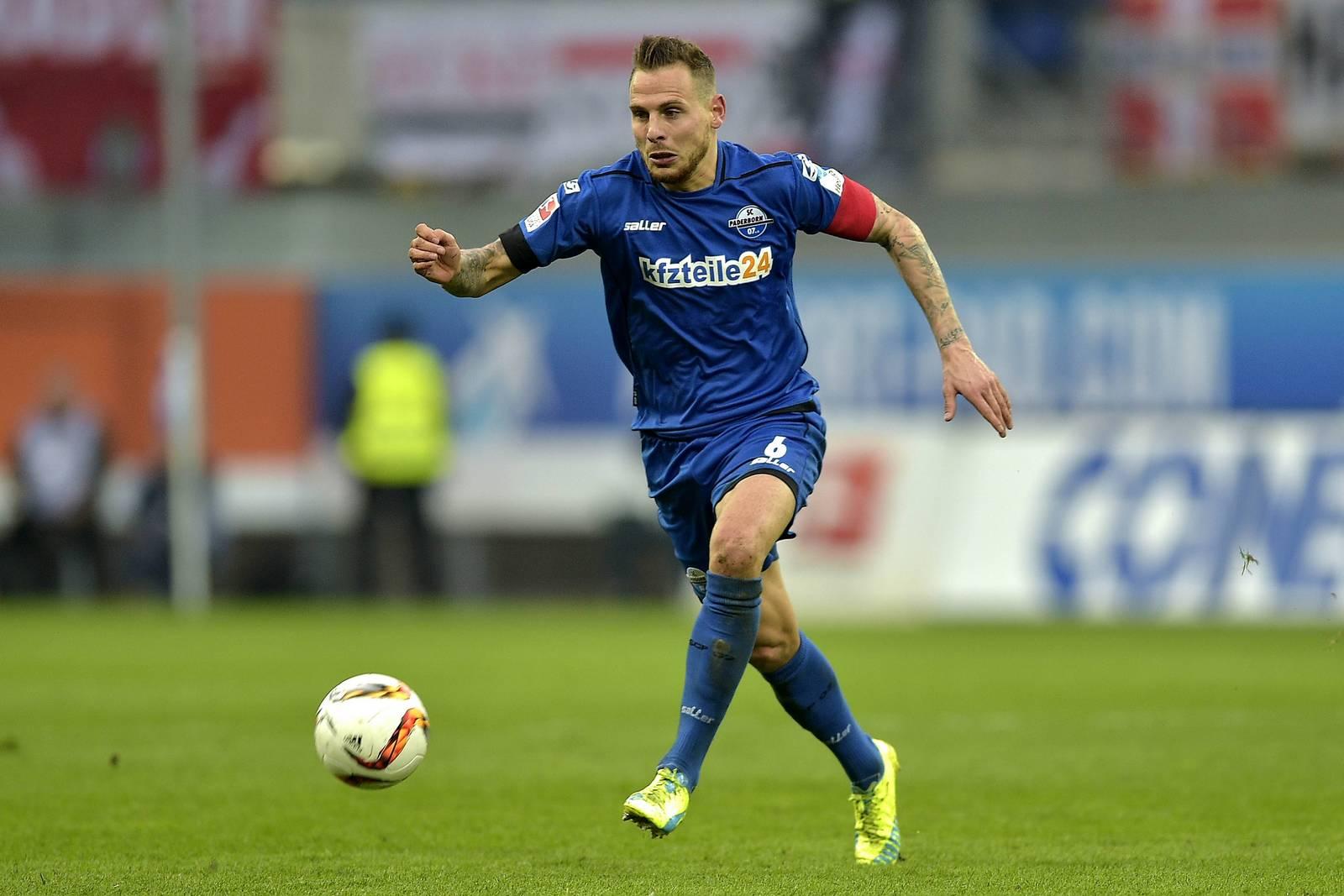 Marvin Bakalorz war zuletzt sogar Kapitän der Paderborner.