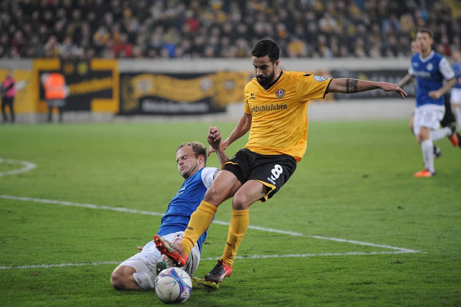 Zweikampf zwischen Hemlein und Teixeira