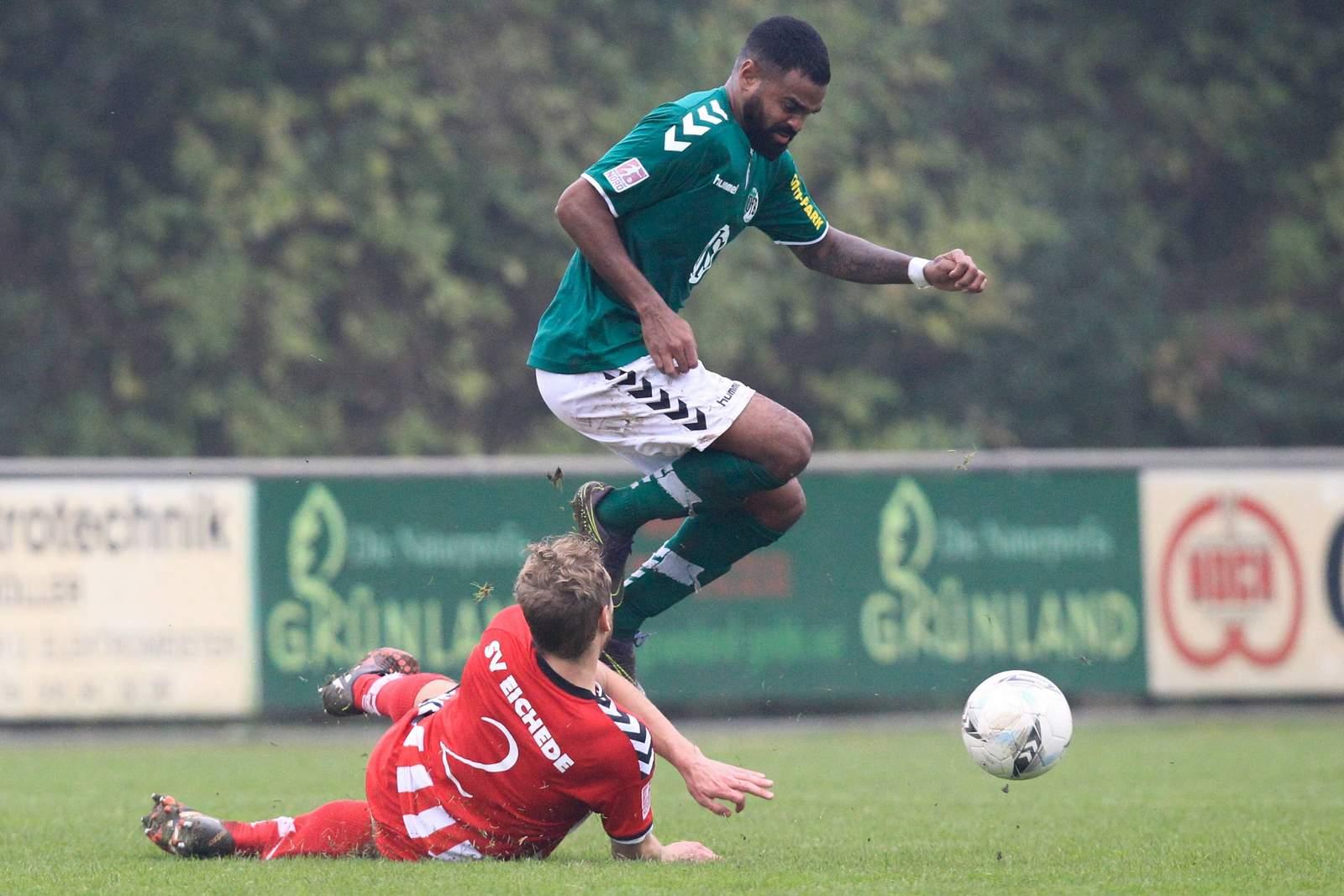 Gary Noel vom VfB Lübeck