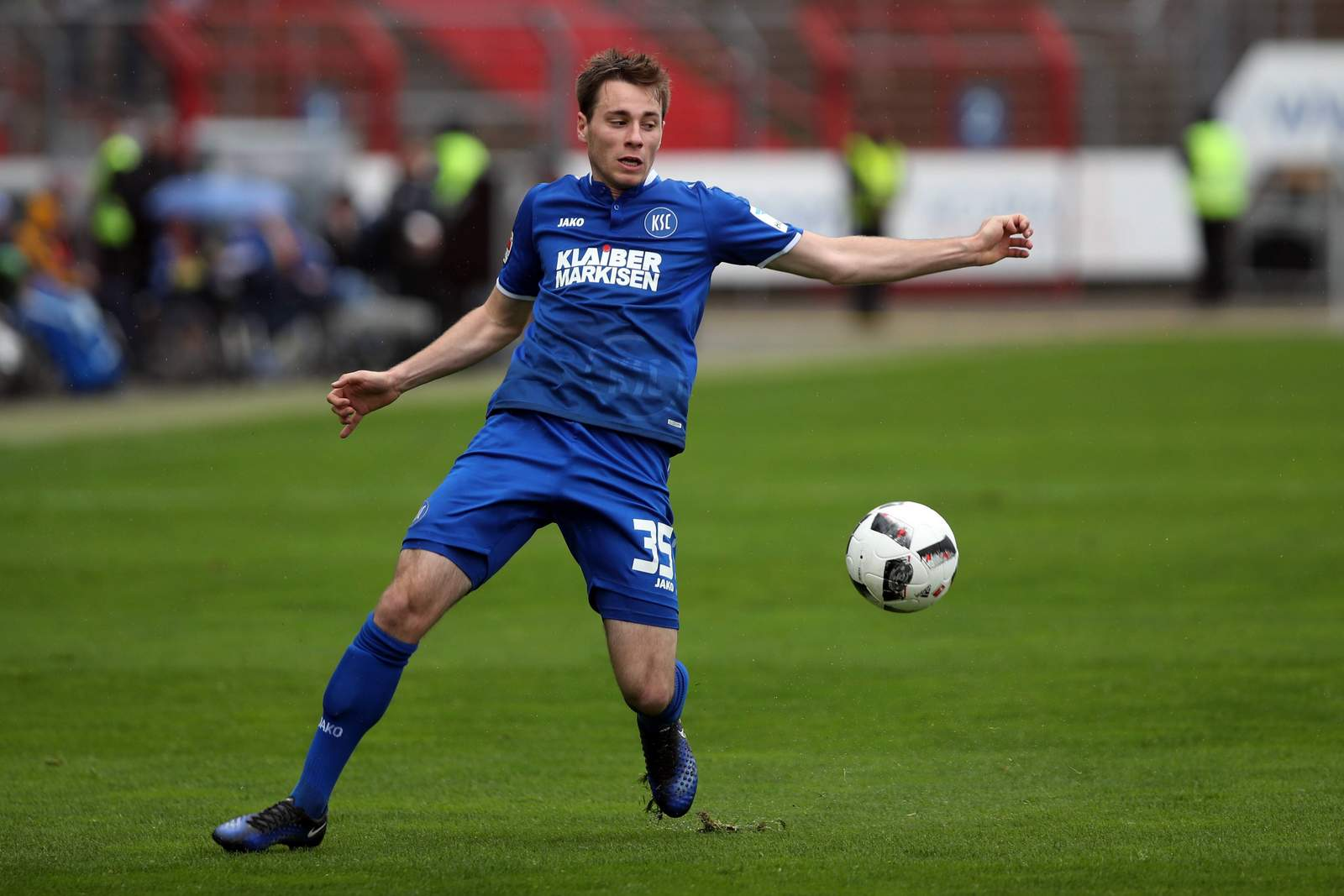 Matthias Bader vom KSC