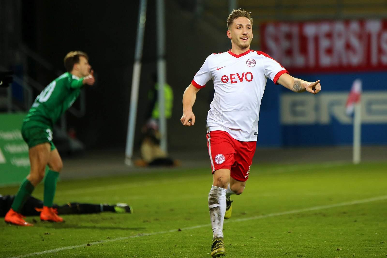 Robin Scheu von den Offenbacher Kickers