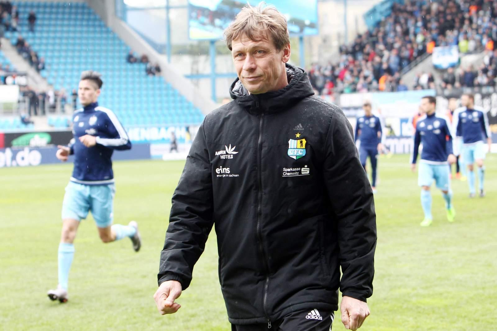 Sven Köhler, Trainer beim Chemnitzer FC