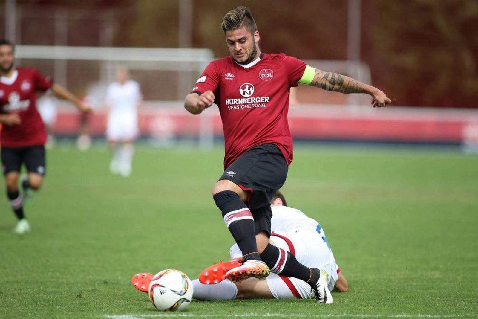 Dominic Baumann vom 1. FC Nürnberg