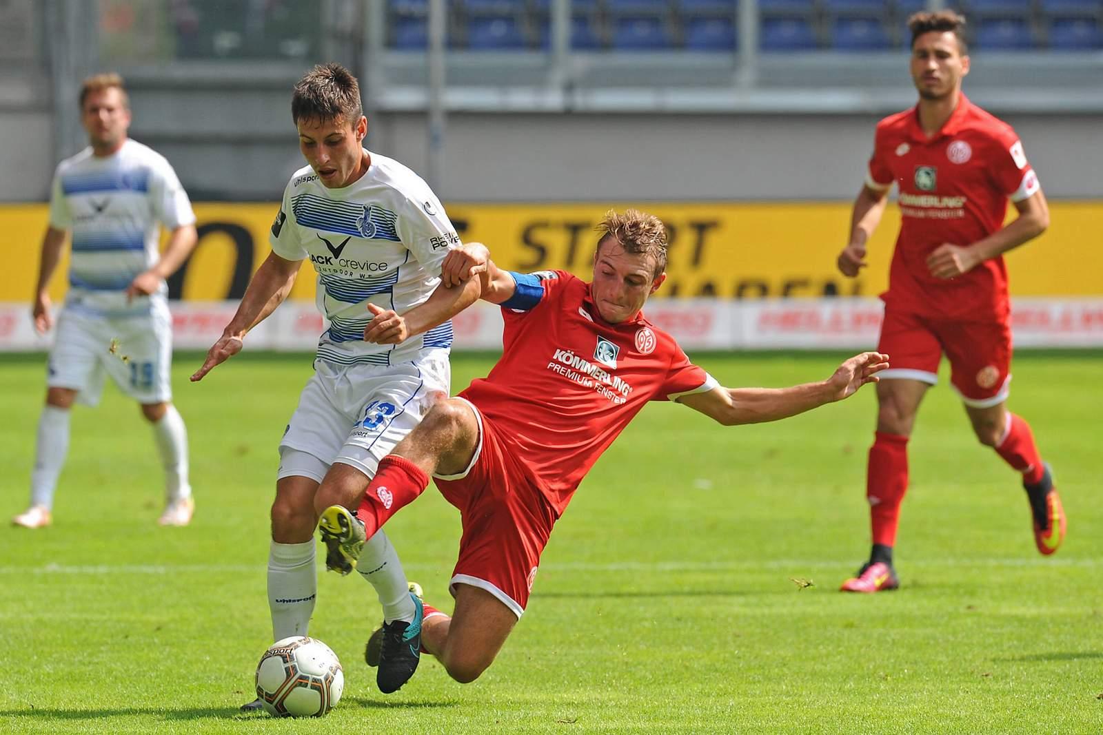 Zweikampf zwischen Schnellhardt und Bohl