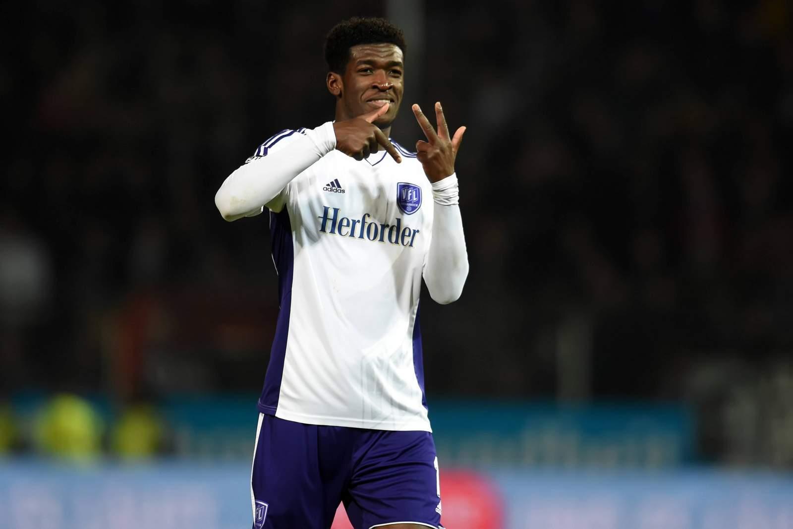 Kwasi Okyere Wriedt vom VfL Osnabrück wechselt zum FC Bayern