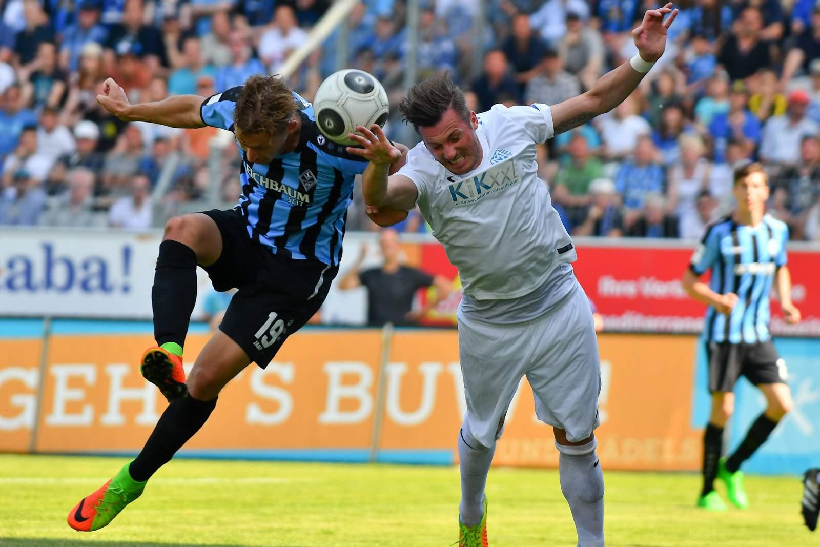 Marcel Gebers vom SV Meppen