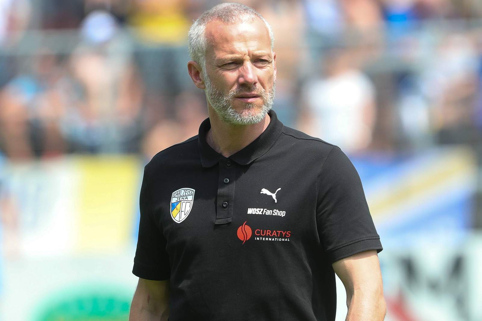 Mark Zimmermann, Trainer des FC Carl Zeiss Jena