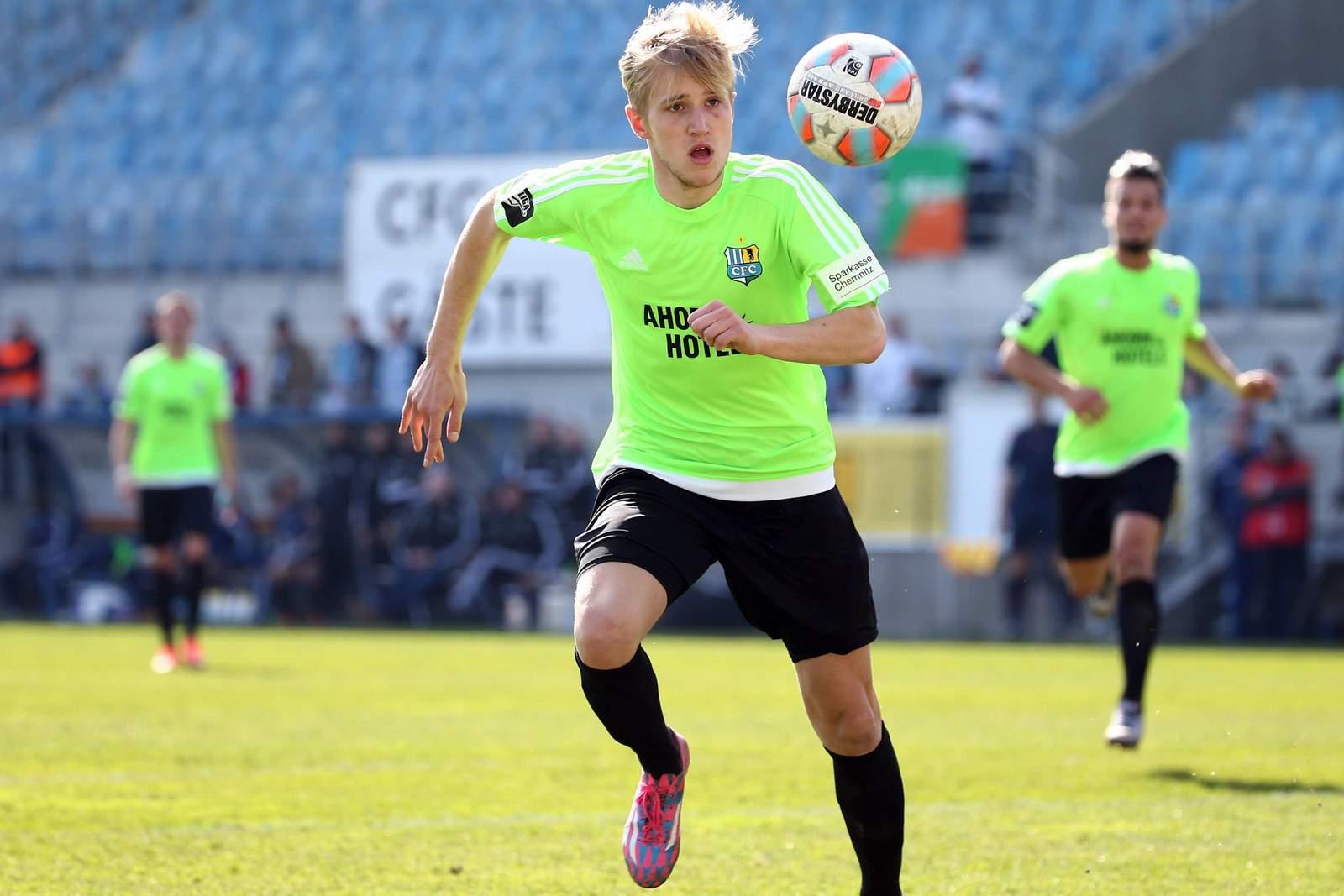 Alexander Dartsch vom Chemnitzer FC