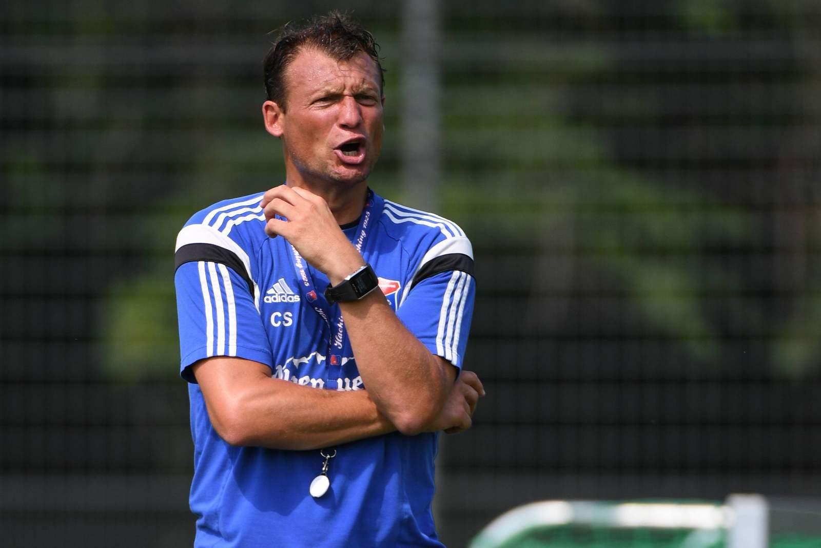 Noch große Ziele mit Haching: Trainer Claus Schromm