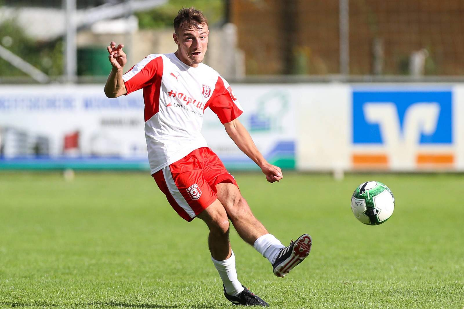 Daniel Bohl vom Halleschen FC