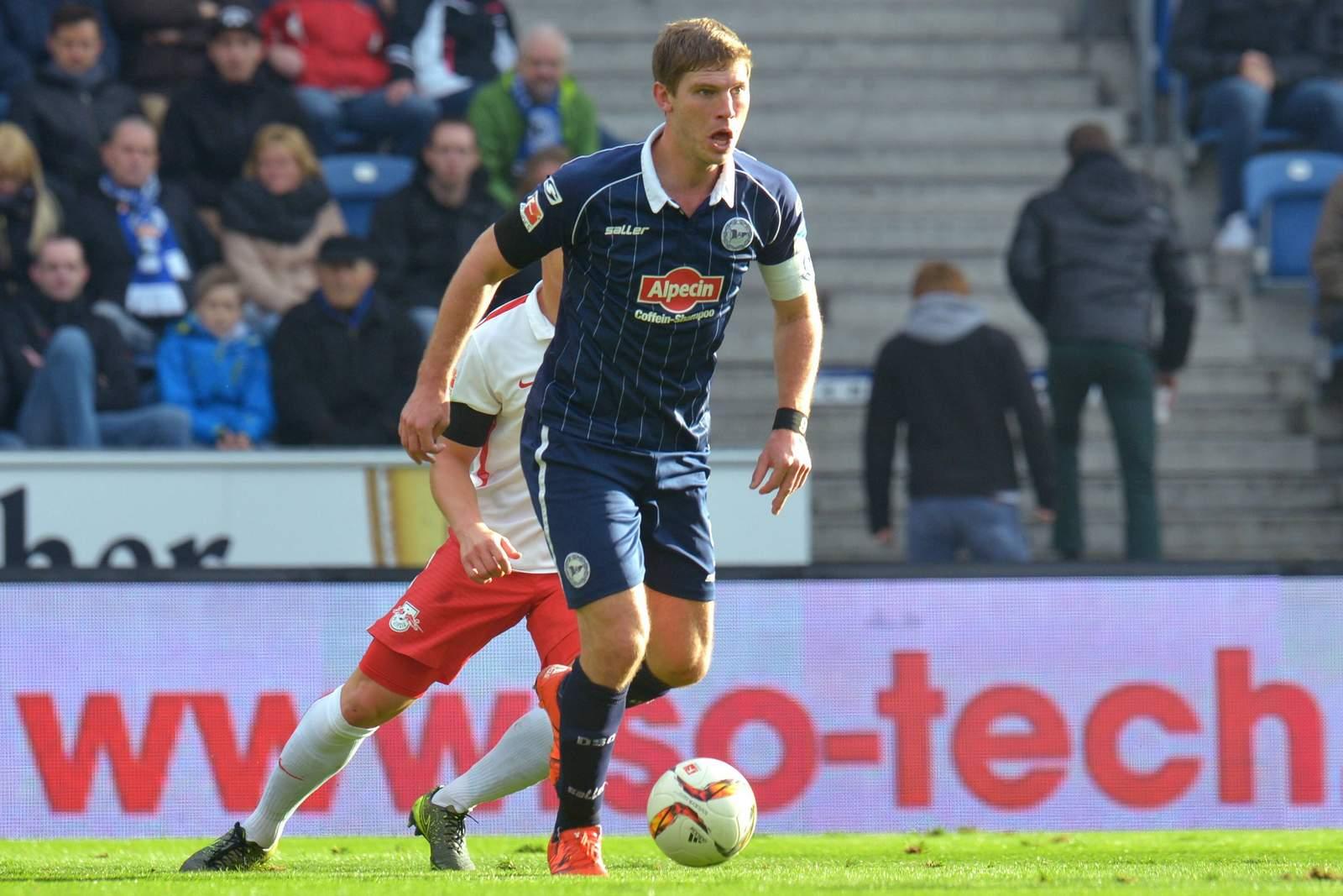 Fabian Klos, Stürmer bei Arminia Bielefeld