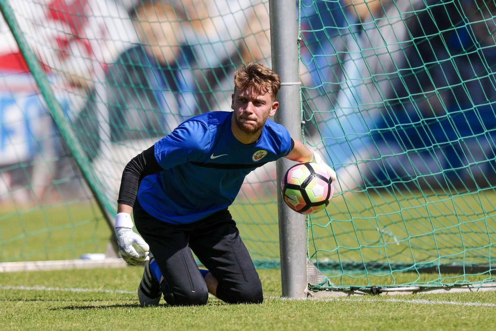 Luis Zwick vom FC Hansa Rostock