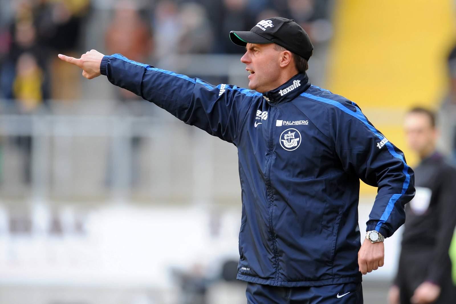 Marc Fascher bei Hansa Rostock
