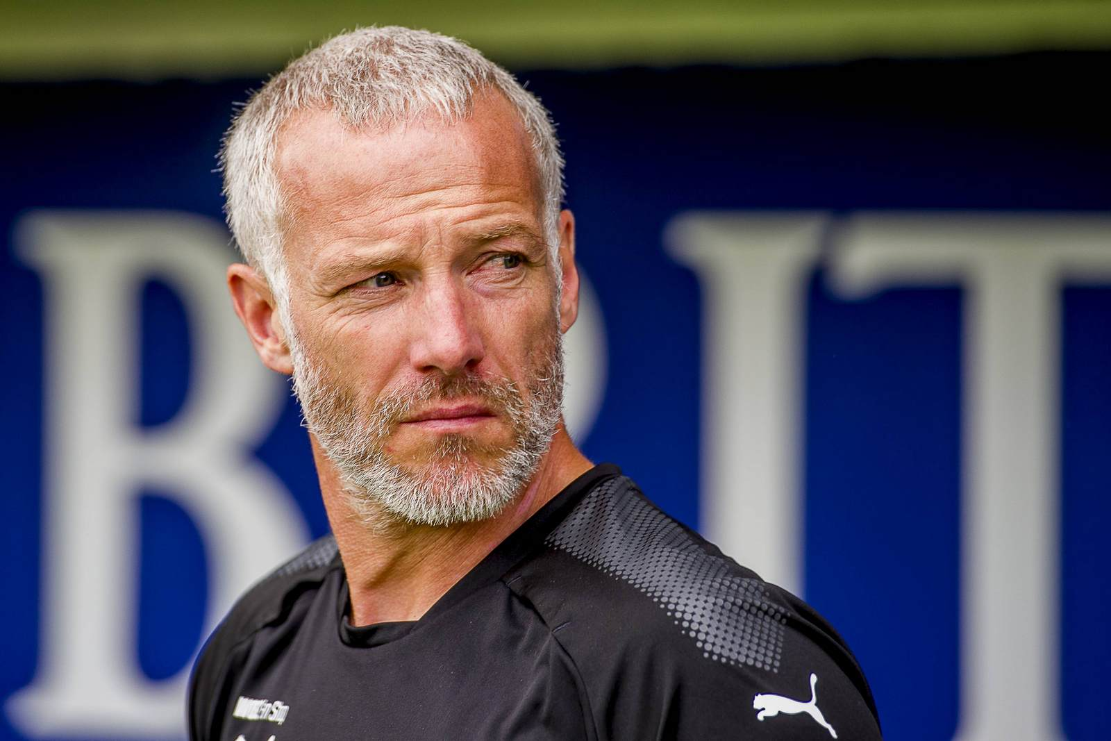 Der Trainer des FC Carl Zeiss Jena Mark Zimmermann