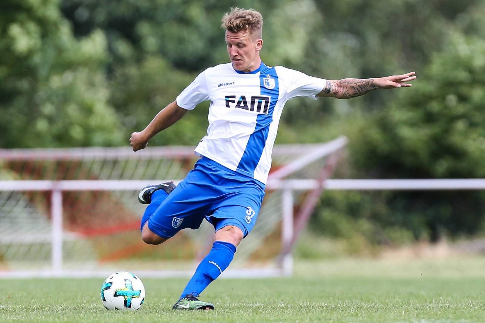 Richard Weil vom 1. FC Magdeburg