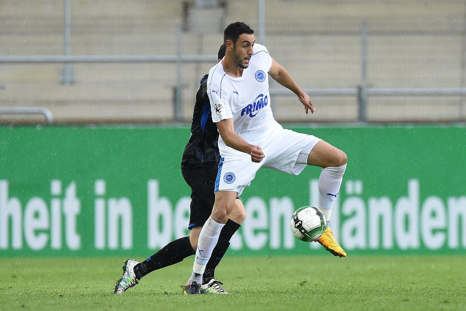 Hamadi Al Ghaddioui im Einsatz.