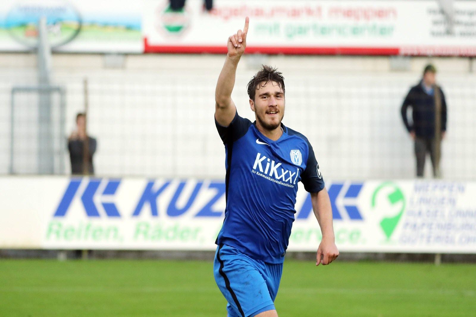 Benjamin Girth, Angreifer vom SV Meppen