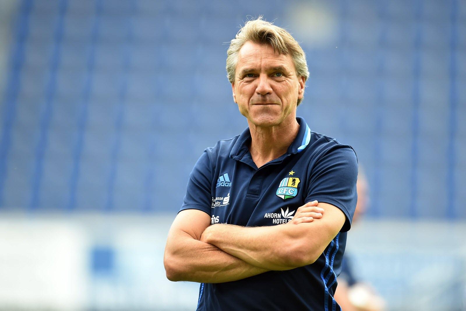 Steht für CFC-Führung nicht zur Diskussion: Trainer Horst Steffen