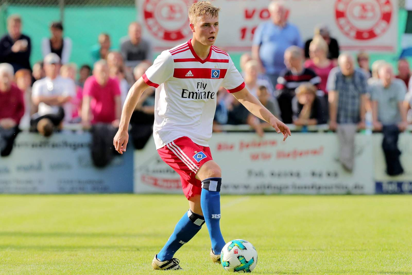 Finn Porath vom Hamburger SV