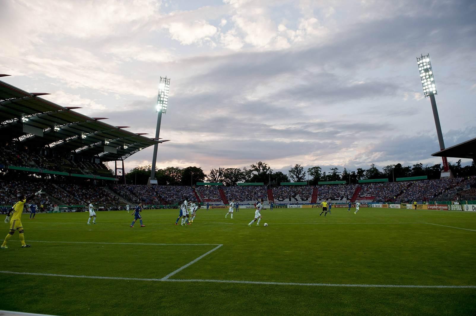 Das Karlsruher Wildpark Stadion