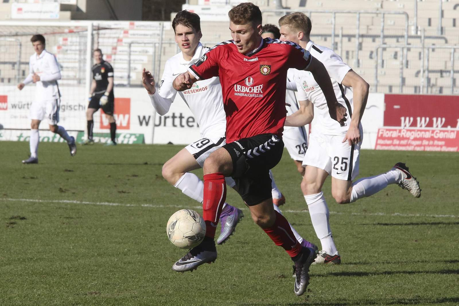Maximilian Dittgen wechselt vom 1. FC Kaiserslautern zum SV Wehen Wiesbaden