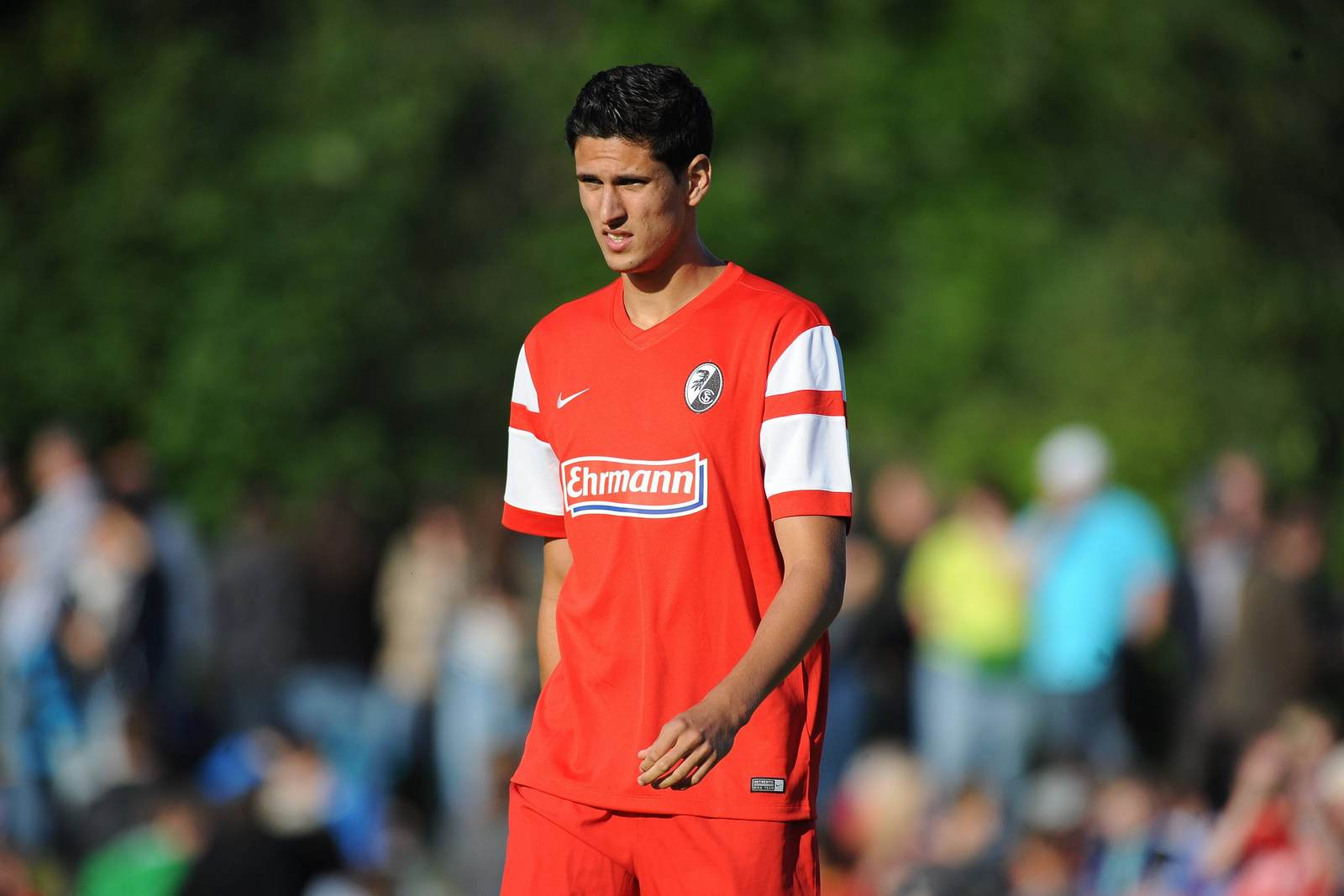 Amir Falahen im Trikot des SC Freiburg. Jetzt wechselt er zu Fortuna Köln.