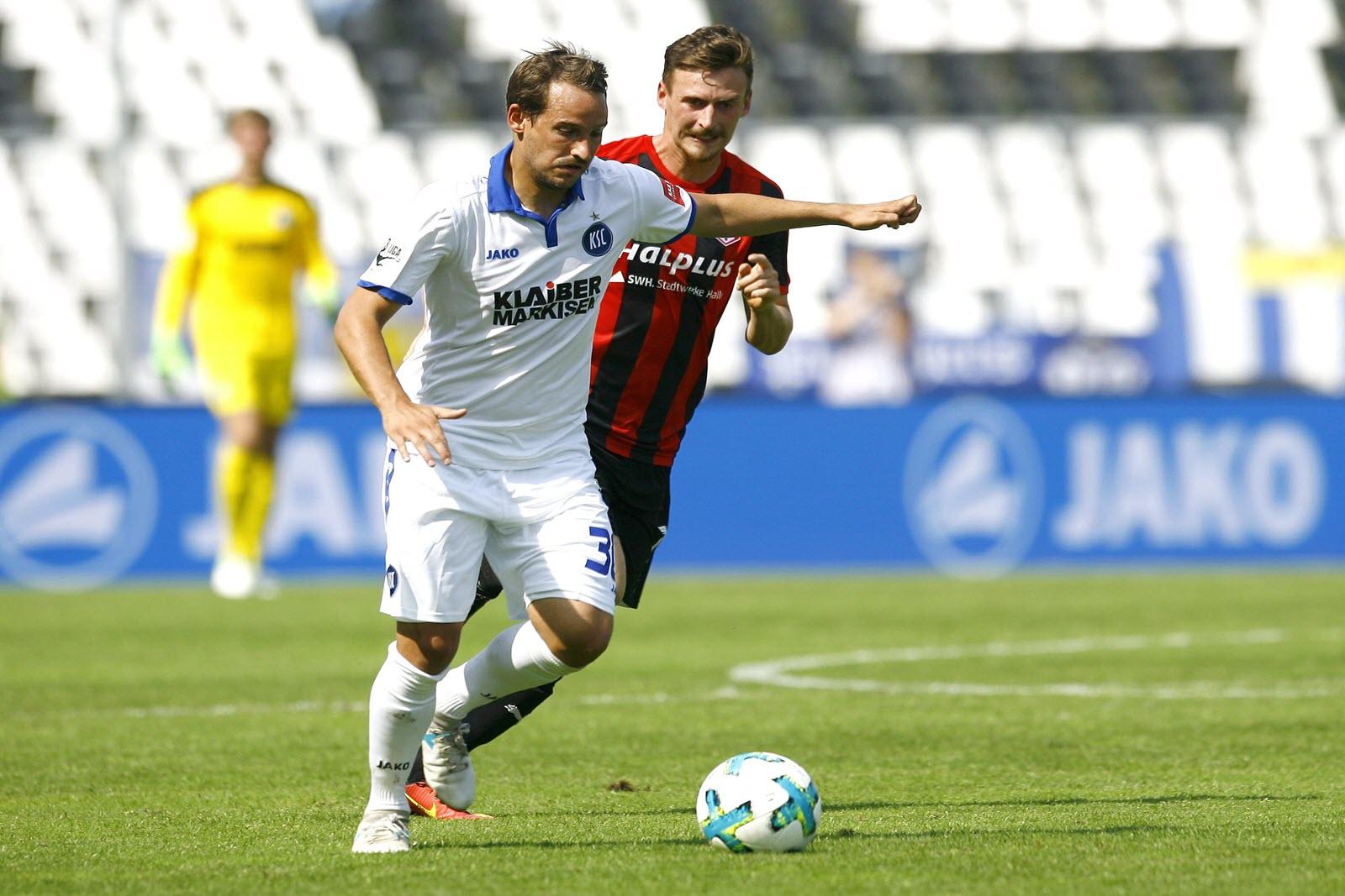 Anton Fink vom Karlsruher SC