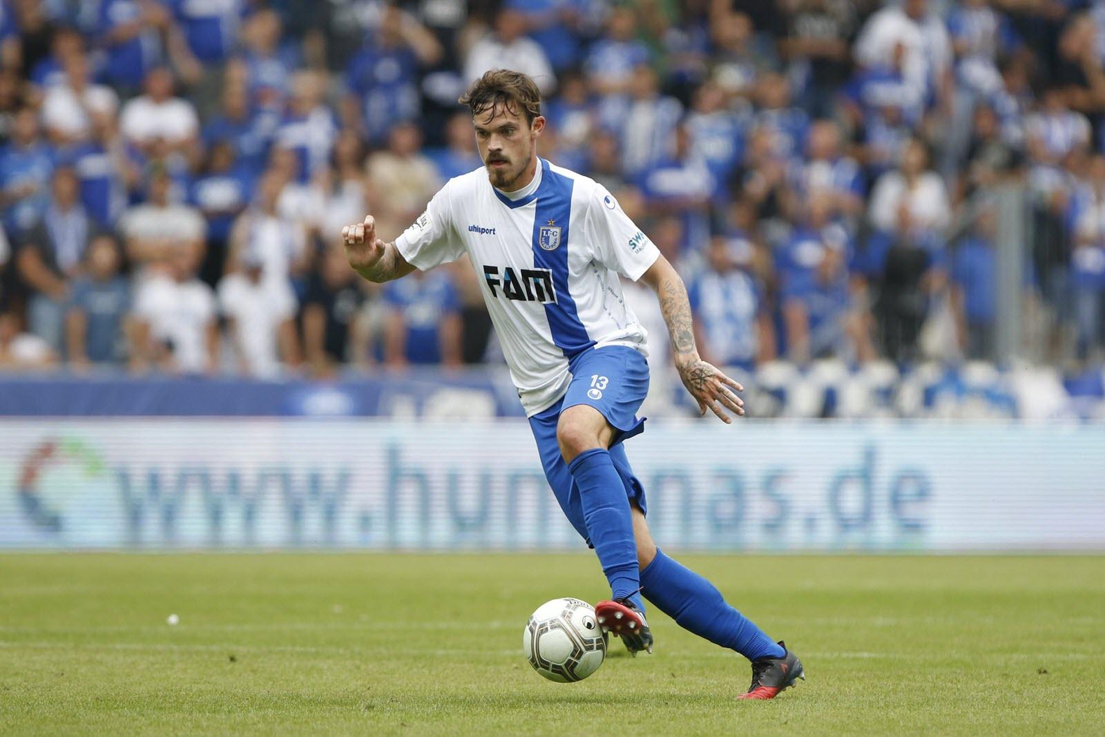 Magdeburg Spieler Dennis Erdmann