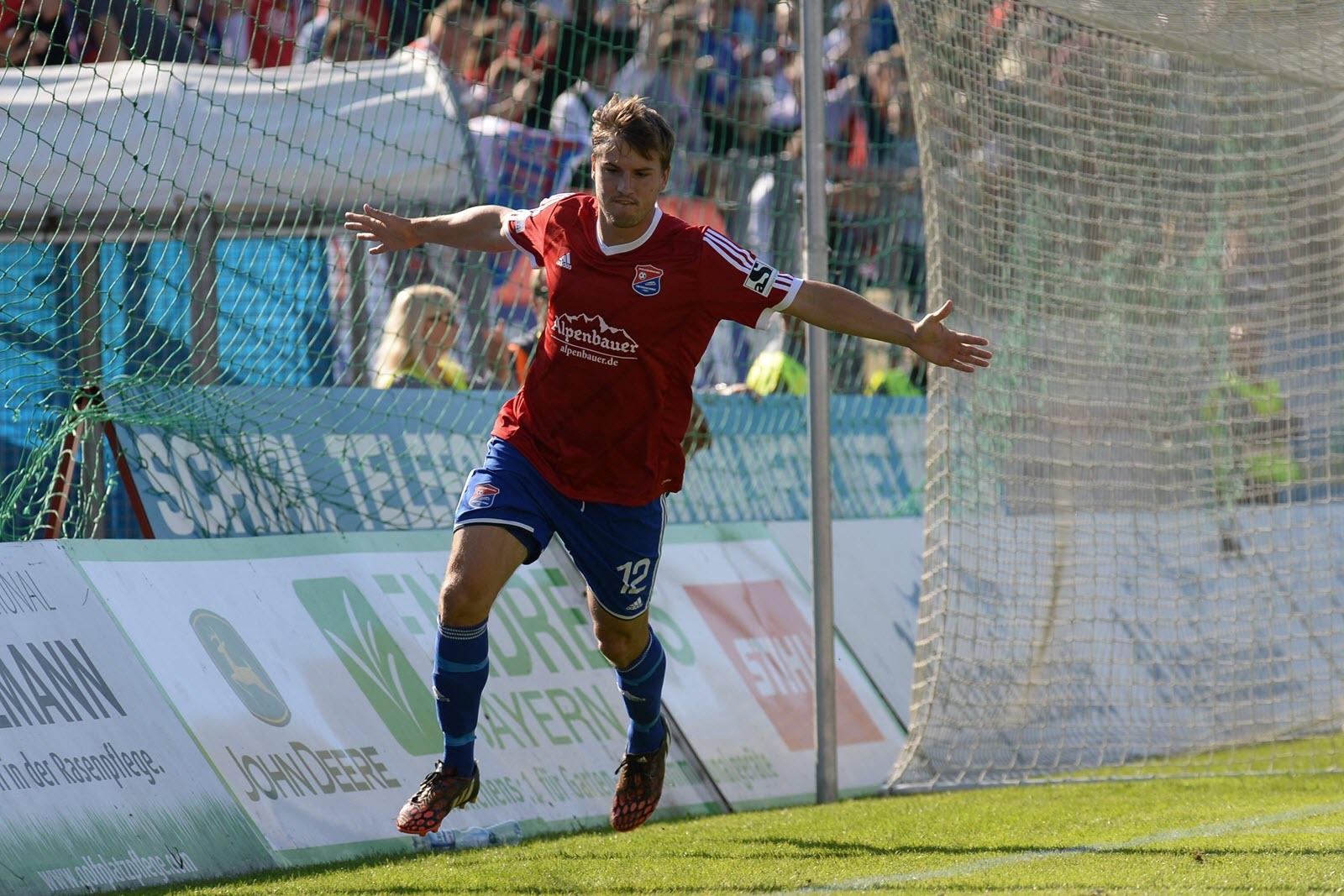 Markus Einsiedler bejubelt einen Treffer