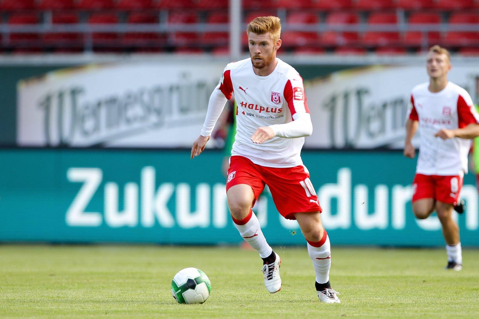 Mathias Fetsch, Spieler beim Halleschen FC