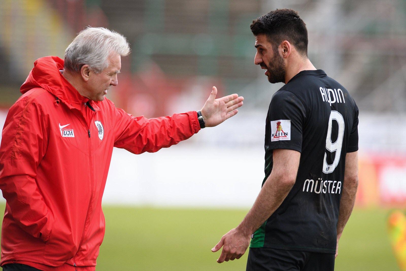 Mirkan Aydin im Gespräch mit Benno Möhlmann