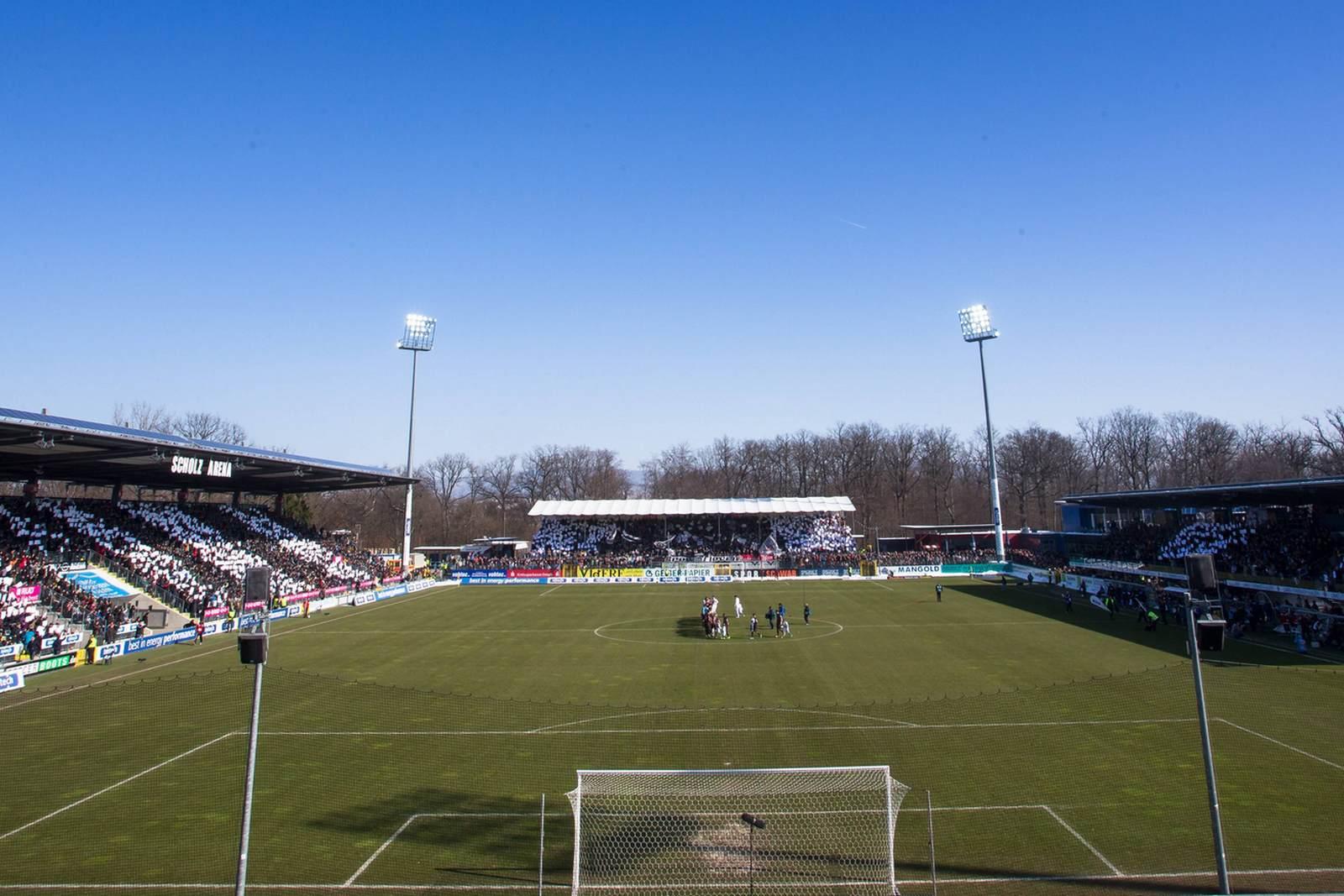 Die Ostalb-Arena, Heimstätte des VfR Aalen