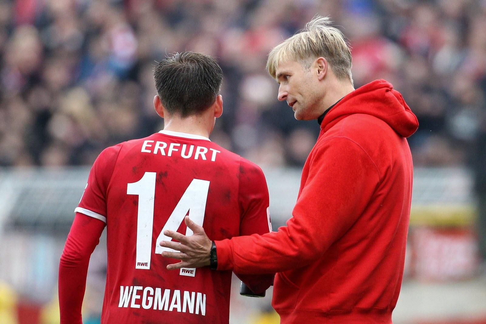 David Bergner mit Marius Wegmann