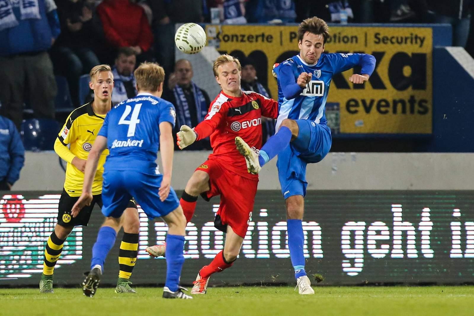 Christian Beck und Magdeburg treffen auf den BVB. Jetzt auf FCM vs BVB wetten!
