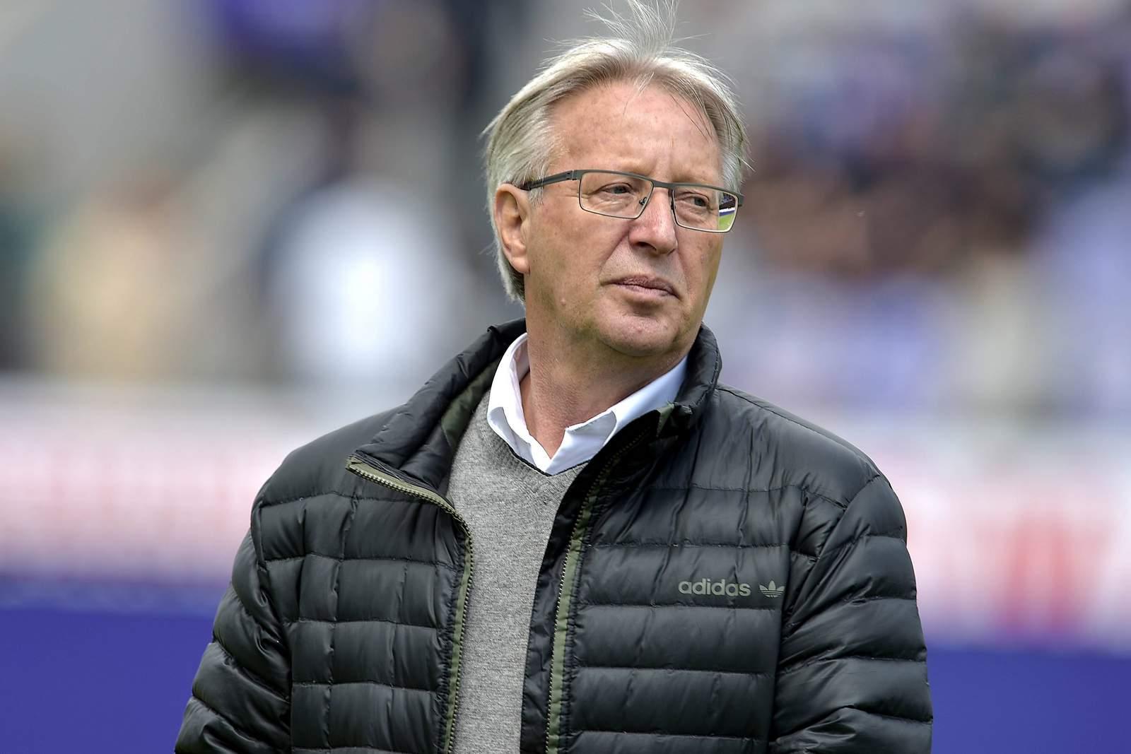 Lothar Gans, noch als Sportdirektor des VfL