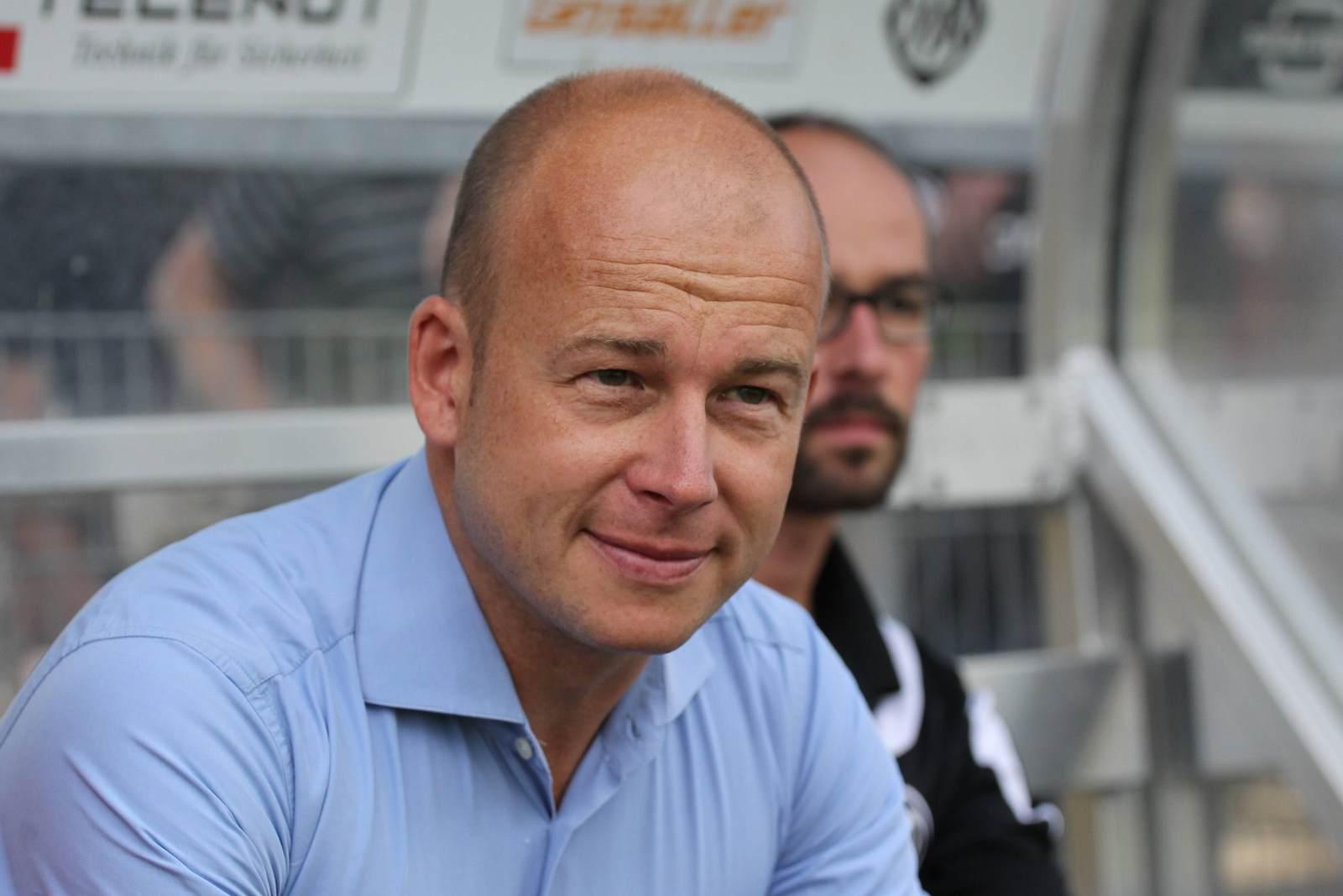 Markus Thiele in Aalen, in Zukunft wird er sportlicher Leiter in Rostock