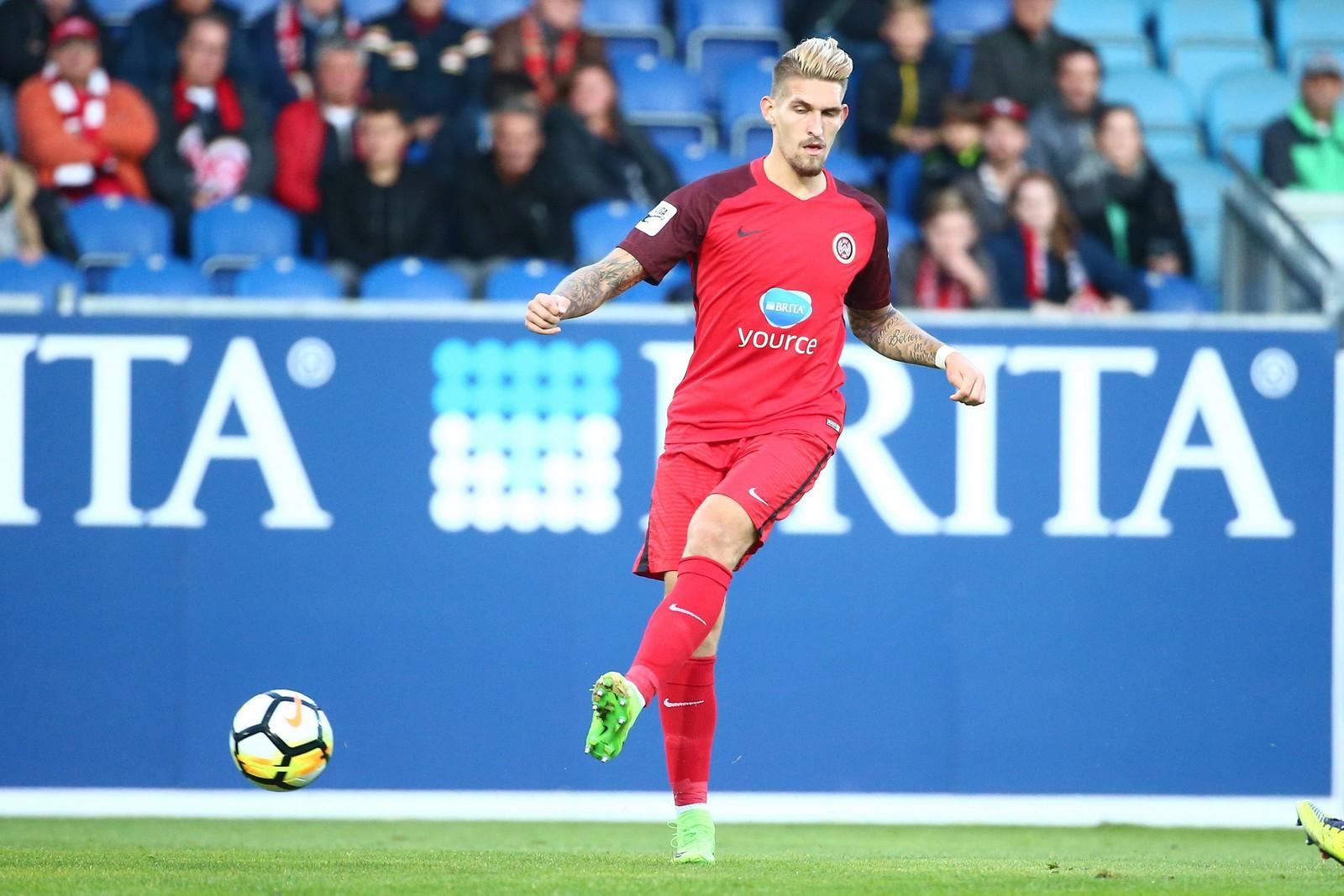 Will Spitzenduo jagen: Wiesbadens Mittelfeldspieler Robert Andrich