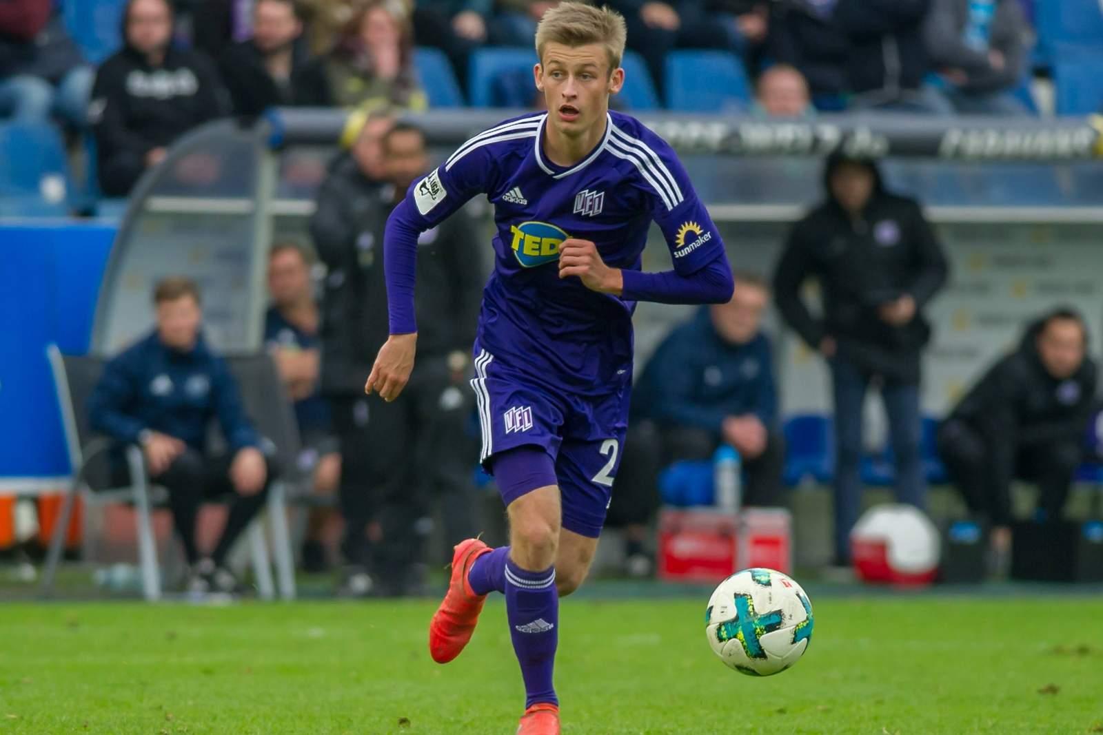 Sebastian Klaas vom VfL Osnabrück