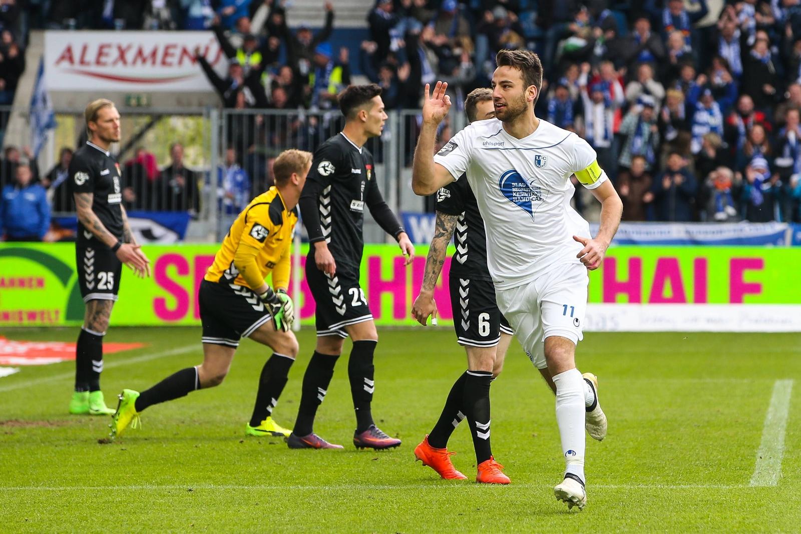 Christian Beck, Stürmer vom 1. FC Magdeburg