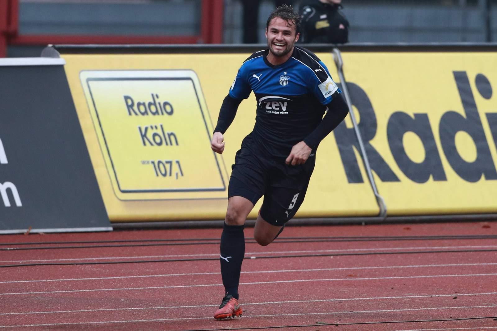 Fabian Eisele im Trikot des FSV Zwickau