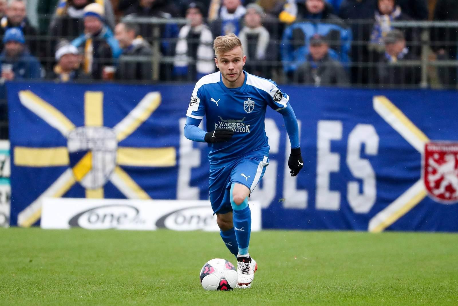 Guillaume Cros im Trikot des FC Carl Zeiss Jena. Steht er vor einem Wechsel?