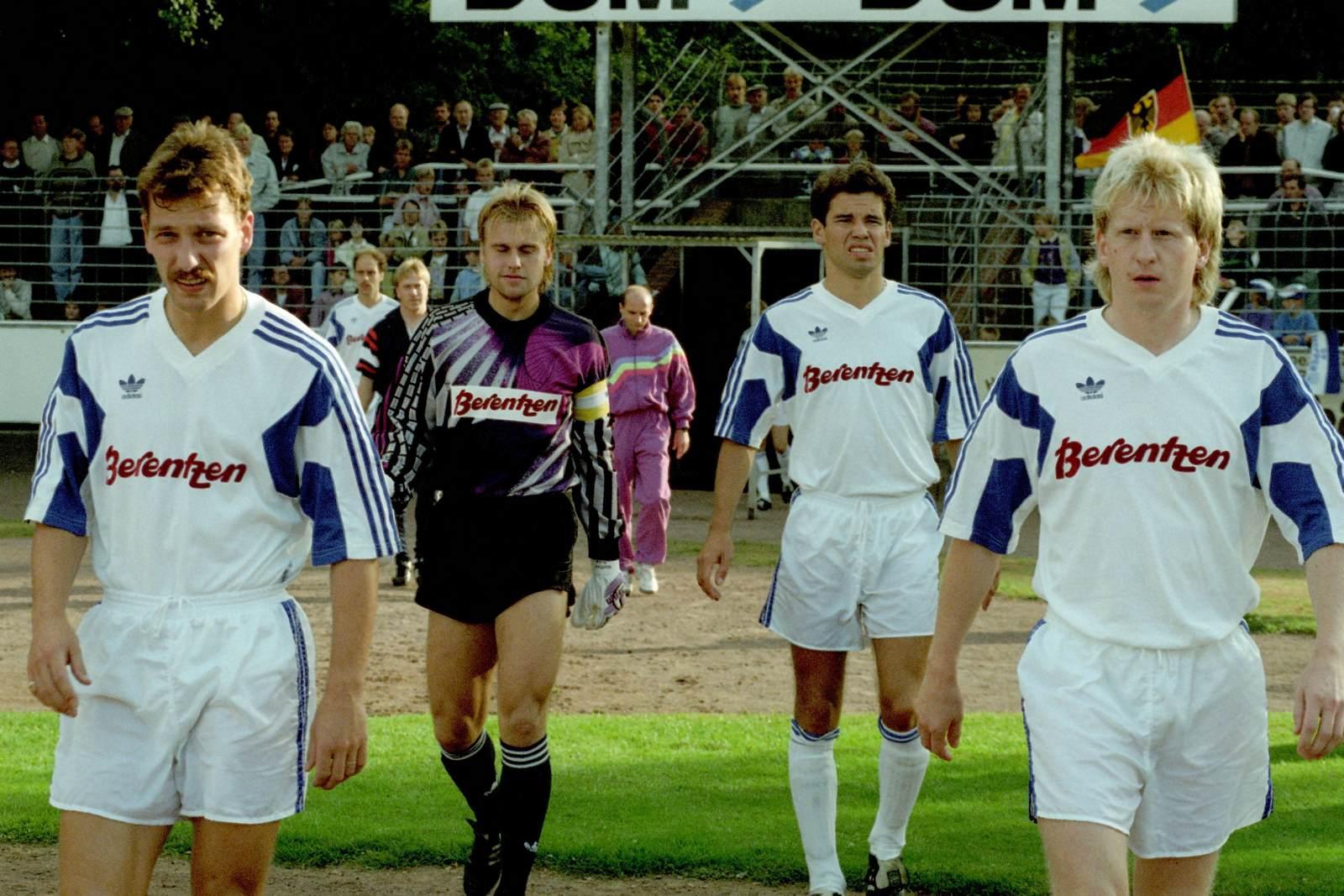 Andreas Helmer, Manfred Kubik, Thomas Böttche und Bernd Deters