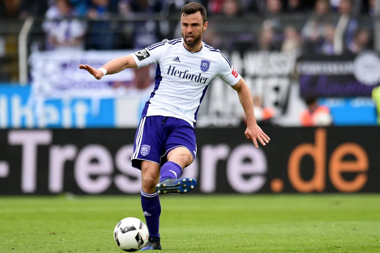 Bastian Schulz im Trikot des VfL Osnabrück