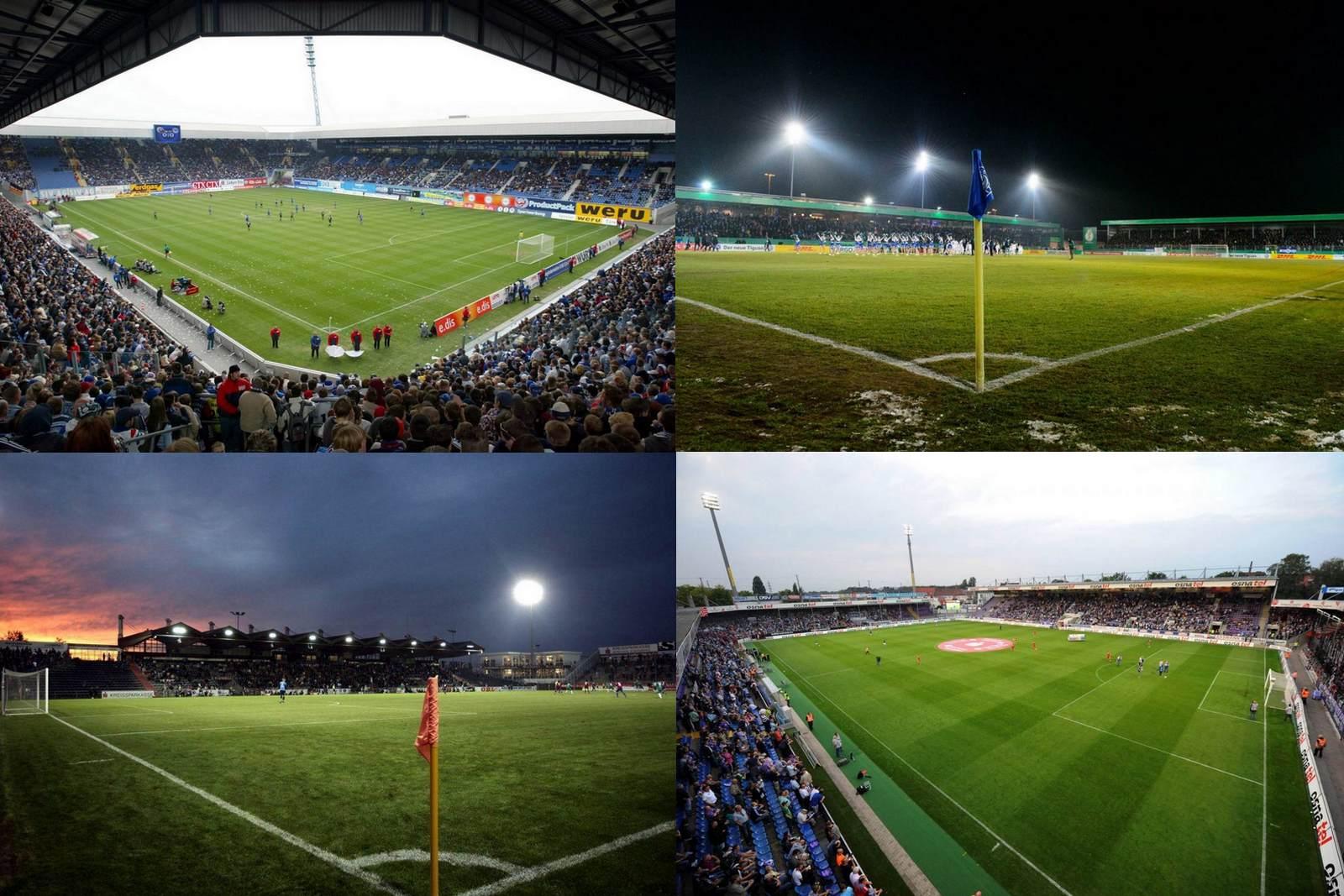 Stadionübersicht Liga drei