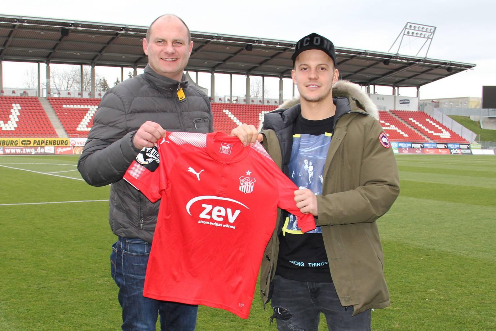 David Wagner und Fabian Schnabel