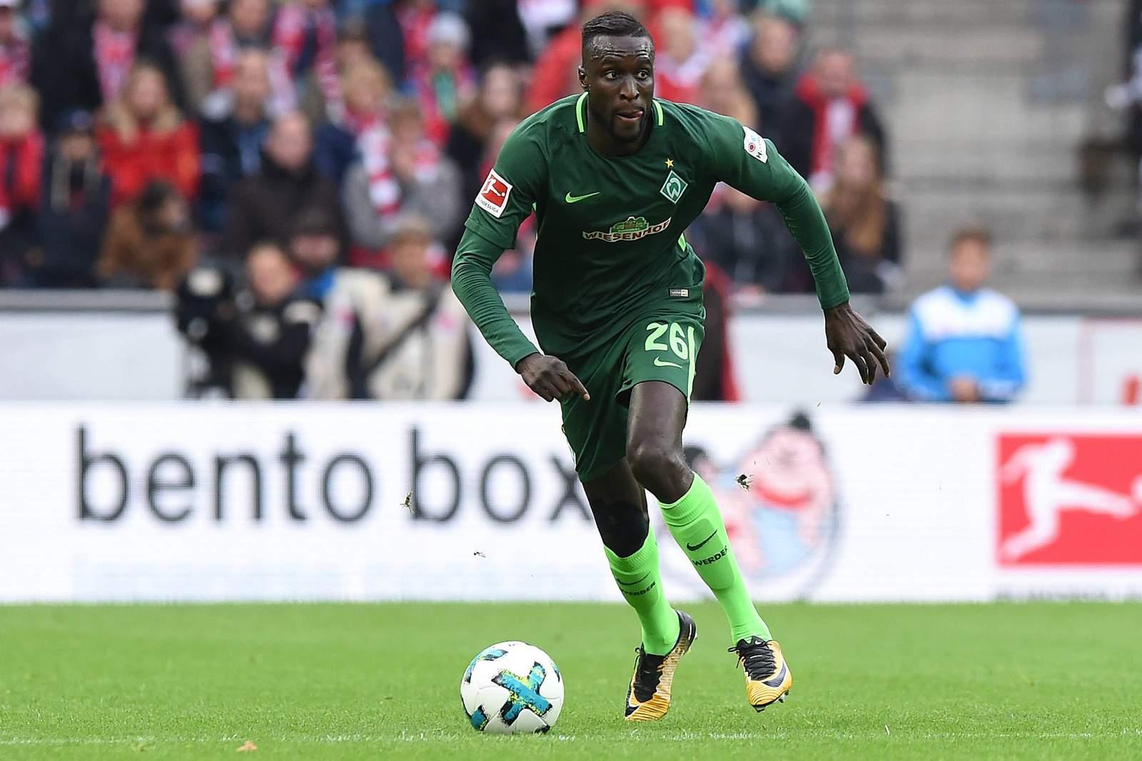 Lamine Sané von Werder Bremen im Spiel gegen Köln