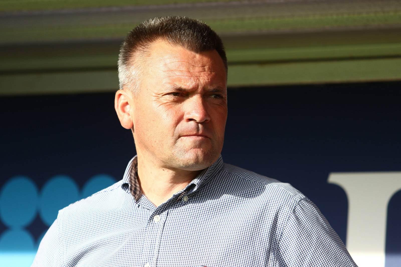 Manni Schwabl, Präsident der SpVgg Unterhaching